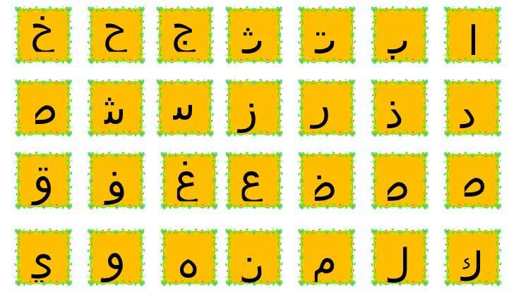 Ərəb əlifbası ilə tanışlıq (1-ci Dərs) ا ب ت ث ج ح خ