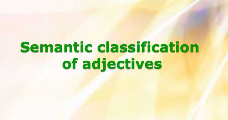 Stative and Dynamic Adjectives